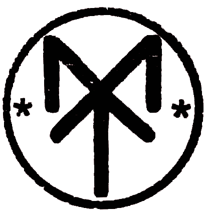 Mumin tattoo logo